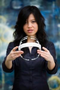 Headset om hersenactiviteit te meten